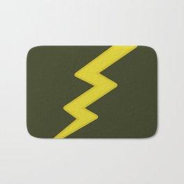 Lightning bolt Bath Mat