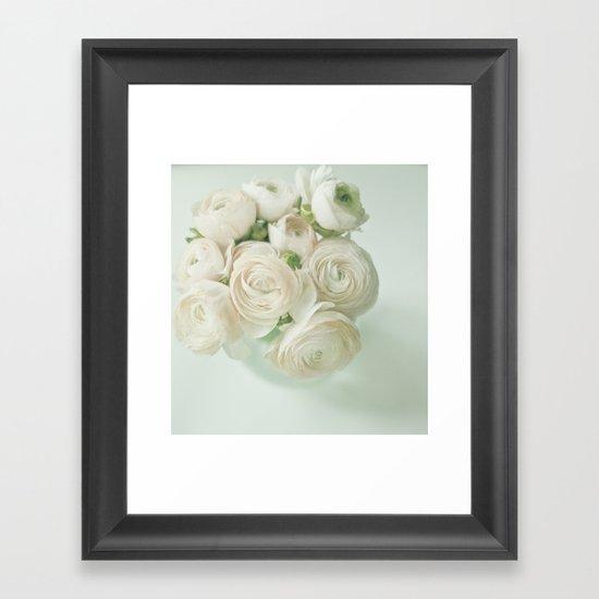 Ranunculus Flowers Framed Art Print
