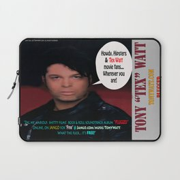 "The Tony 'Tex' Watt Jango Radio ""Plugged"" Album Poster Laptop Sleeve"