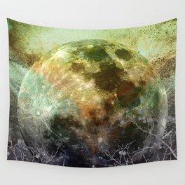 MOON under MAGIC SKY X-1 Wall Tapestry