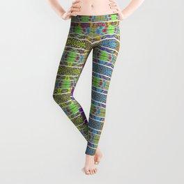 Bright Festive Pinata Colors Leggings