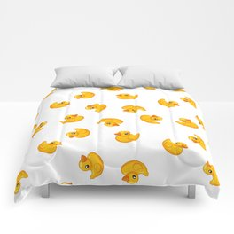 Rubber duck toy Comforters