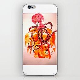 An octopus has three hearts iPhone Skin