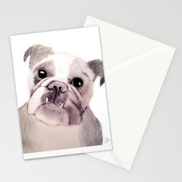 Bully Bull Dog Stationery Cards
