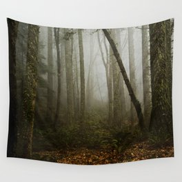 Misty Woods Wall Tapestry