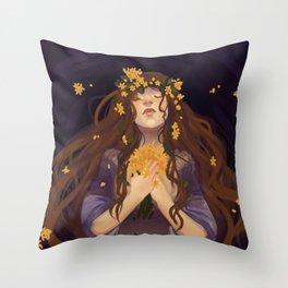 Ophelia Throw Pillow