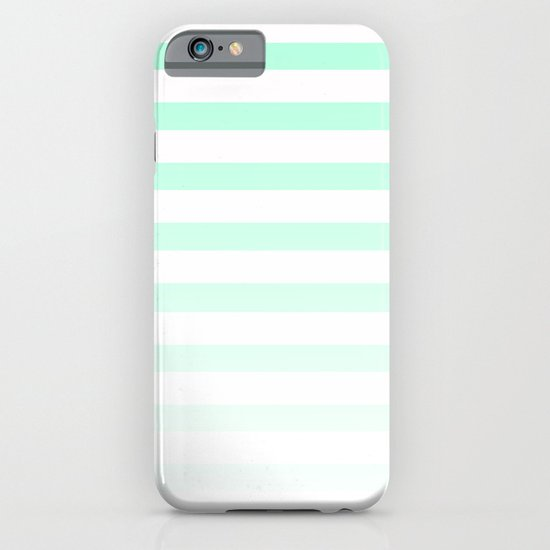 MINT STRIPE FADE iPhone & iPod Case