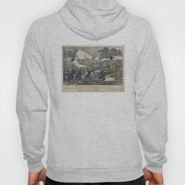 Vintage Battle of Gettysburg Illustration (1863) Hoody