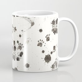Cat Ran Away With the Ink Coffee Mug