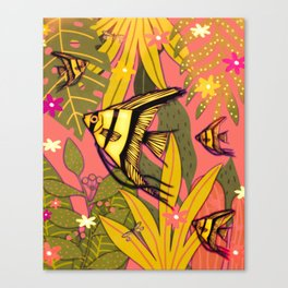 Angel Fish #2 Canvas Print