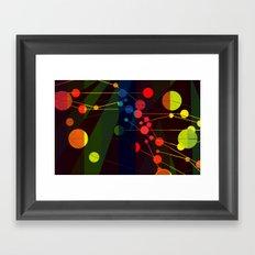 Planetary System I Framed Art Print