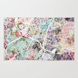 Austin map - Portrait Rug