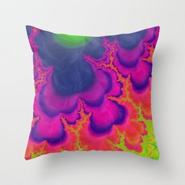 Trippy Throw Pillow