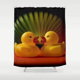 Rubber Duck Still Life II Shower Curtain