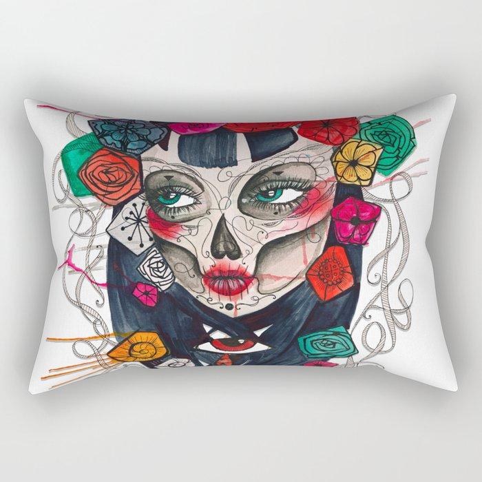 Mexican SK Rectangular Pillow