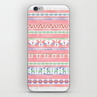 mexican iPhone & iPod Skins featuring Mexican Blanket by Sian Keegan