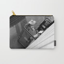 Coffee time - Black and white photography Carry-All Pouch