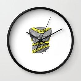 Six Pack - Under Construction Wall Clock