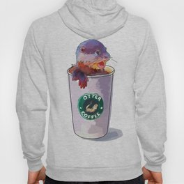 Otter Coffee Hoody
