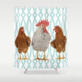 The Talk of the Town Shower Curtain