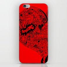 Heartfull en colour iPhone & iPod Skin