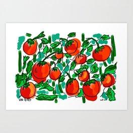 Vine Ripes Art Print
