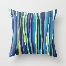 Songlines Throw Pillow
