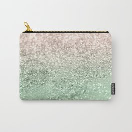 Blush Glitter Dream #3 #shiny #decor #art #society6 Carry-All Pouch