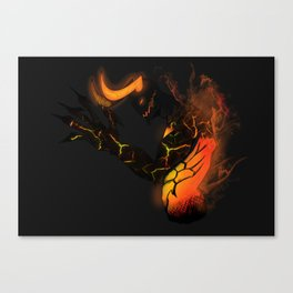 Demon Canvas Print