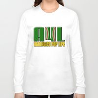 oakland Long Sleeve T-shirts featuring Oakland A's Shirt Design by John Alim Studios