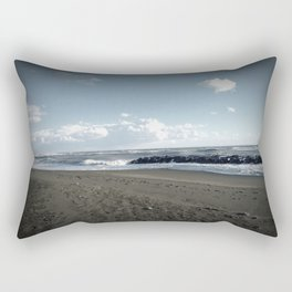 Another Day on the Beach Rectangular Pillow