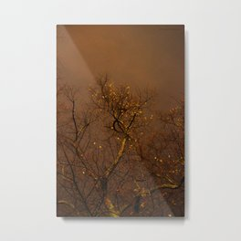 The Golden Trees Metal Print