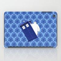 baymax iPad Cases featuring Tardis - BAYMAX by Raisya