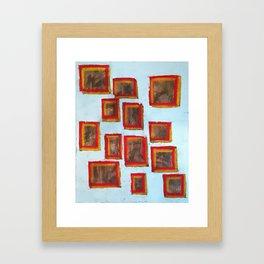 13 Squared (Paintings of God) Framed Art Print