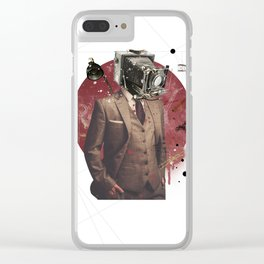 Open your eyes Clear iPhone Case