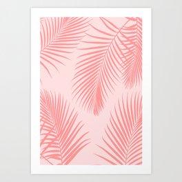 Desert Palms Art Print