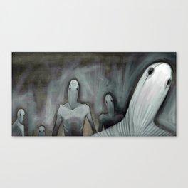 Silent Shout Canvas Print