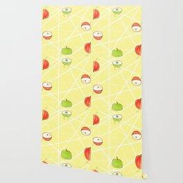 Apple Halves Wallpaper