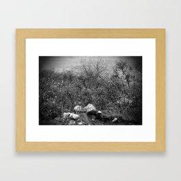 winters edge Framed Art Print