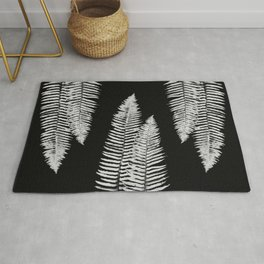 Pacific Northwest Silver Fern Forest Adventure Rug