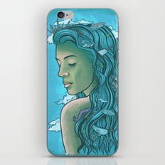 Siren of the Seas iPhone & iPod Skin