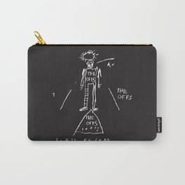 80s Punk Rock, ska record cover, Vectorised Basquiat Carry-All Pouch