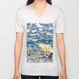 Beach III Unisex V-Neck