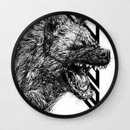 The Laughing Hyena Wall Clock