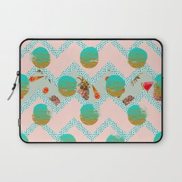 Forms of tropical patterns Laptop Sleeve