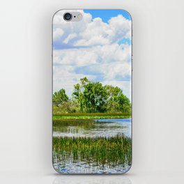 Everglades Reflections iPhone Skin