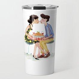 Spaghetti lovers Travel Mug