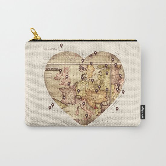 Love to Travel Carry-All Pouch
