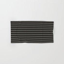 Black Ombre Stripes Hand & Bath Towel