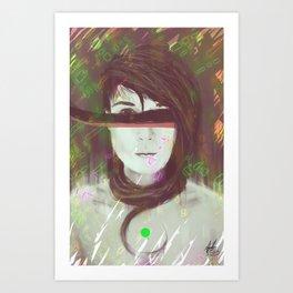 Digital Origin  Art Print